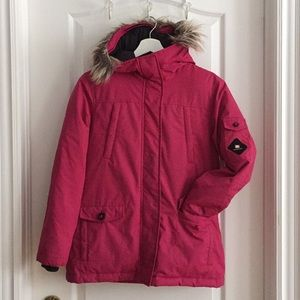 **Youth Girls Ecko Red Feather Down Winter Coat**